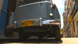 HD2009-4-4-65 Havana old car Stock Video Footage