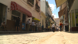 HD2009-4-4-67 Havana street Stock Video Footage