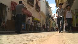 HD2009-4-4-67 Havana street Stock Video Footage