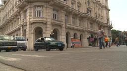 HD2009-4-4-71 Havana street Stock Video Footage