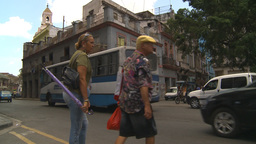 HD2009-4-4-73 Havana street Stock Video Footage
