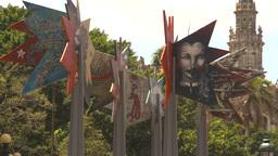 HD2009-4-4-77 Havana street art Stock Video Footage