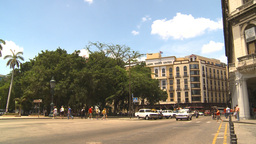 HD2009-4-4-87 Havana traffic Stock Video Footage