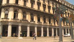 HD2009-4-4-89 Havana mall and street Stock Video Footage