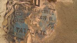 HD2009-4-5-3 Havana old sign Footage