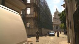 HD2009-4-5-5 Havana traffic capitol Stock Video Footage
