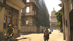 HD2009-4-5-5 Havana traffic capitol Stock Video Footage