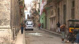 HD2009-4-5-7 Havana neighborhood Stock Video Footage