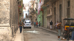 HD2009-4-5-7 Havana neighborhood Stock Video Footage