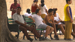 HD2009-4-5-9 Havana people Stock Video Footage