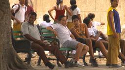 HD2009-4-5-9 Havana people Footage
