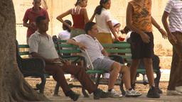 HD2009-4-5-9 Havana people Stock Video Footage