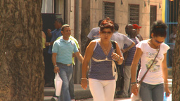 HD2009-4-5-11 Havana people Stock Video Footage