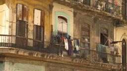 HD2009-4-5-15 Havana neighborhood Stock Video Footage