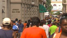 HD2009-4-5-17 Havana street Stock Video Footage