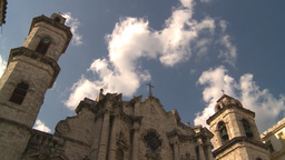 HD2009-4-5-21 Havana cathedral square Stock Video Footage