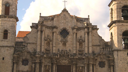 HD2009-4-5-27 Havana cathedral square Stock Video Footage