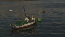 HD2009-4-5-39 Havana fishingskiff Stock Video Footage