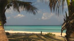 HD2009-4-6-11 Cuba beach Stock Video Footage
