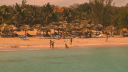 HD2009-4-6-21 Cuba beach Stock Video Footage