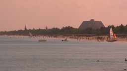HD2009-4-6-25 Cuba beach resorts Footage