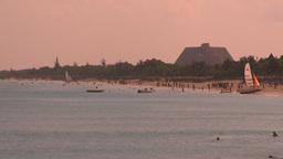HD2009-4-6-25 Cuba beach resorts Stock Video Footage