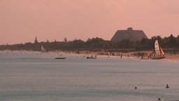 HD2009-4-6-25 Cuba beach resorts Stock Video Footage