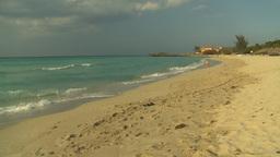 HD2009-4-6-34 Cuba beach sunset Stock Video Footage