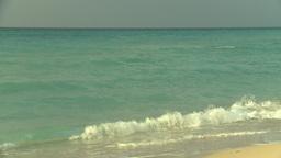 HD2009-4-6-36 Cuba beach sunset Stock Video Footage