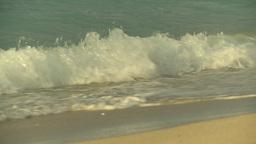 HD2009-4-6-38 Cuba beach sunset Footage