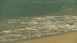 HD2009-4-6-38 Cuba beach sunset Stock Video Footage