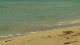 HD2009-4-6-42 Cuba beach sunset Stock Video Footage