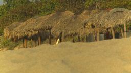 HD2009-4-6-54 Cuba beach sunset Stock Video Footage