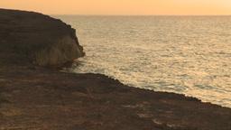 HD2009-4-6-63b Cuba beach rocky shore Stock Video Footage