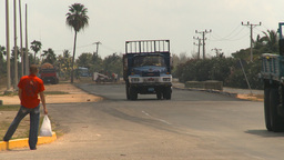 HD2009-4-7-18 Cuba highway Stock Video Footage