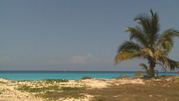 HD2009-4-7-22 Cuba beach Stock Video Footage