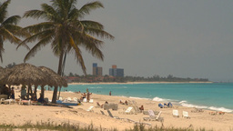 HD2009-4-7-26 Cuba beach Stock Video Footage