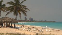 HD2009-4-7-26 Cuba beach Footage
