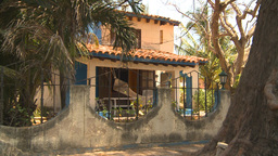 HD2009-4-7-28 Cuba homes Stock Video Footage