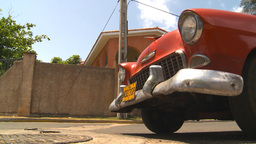 HD2009-4-7-34 Cuba old car Stock Video Footage