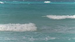 HD2009-4-7-42 Cuba surf Stock Video Footage