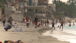HD2009-4-7-44 Cuba beach Stock Video Footage