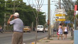 HD2009-4-7-49 Cuba sm town road Footage
