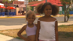 HD2009-4-7-55 Cuba children Footage