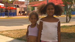 HD2009-4-7-55 Cuba children Stock Video Footage