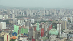 035 Sao Paulo , skyline Stock Video Footage