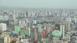 035 Sao Paulo , skyline Stock Video Footage