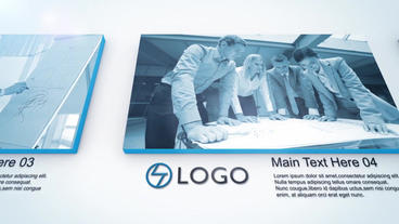 Simple & Clean Corporate After Effects Template