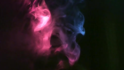 SMOKE AND CONCERT STAGE LIGHTS 3 Stock Video Footage
