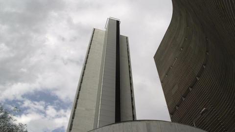077 Sao Paulo , Modern Buildings , Skyscraper stock footage